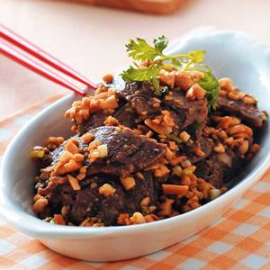 香米拌牛肉