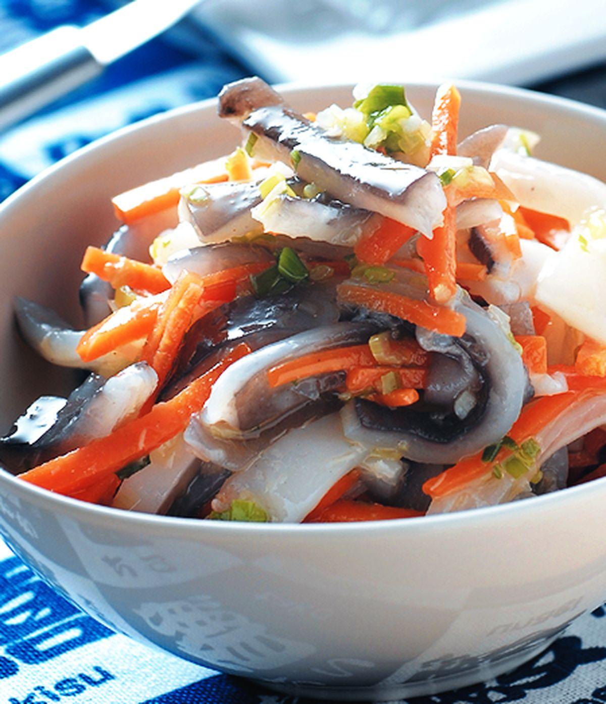 食譜:蔥油魚皮