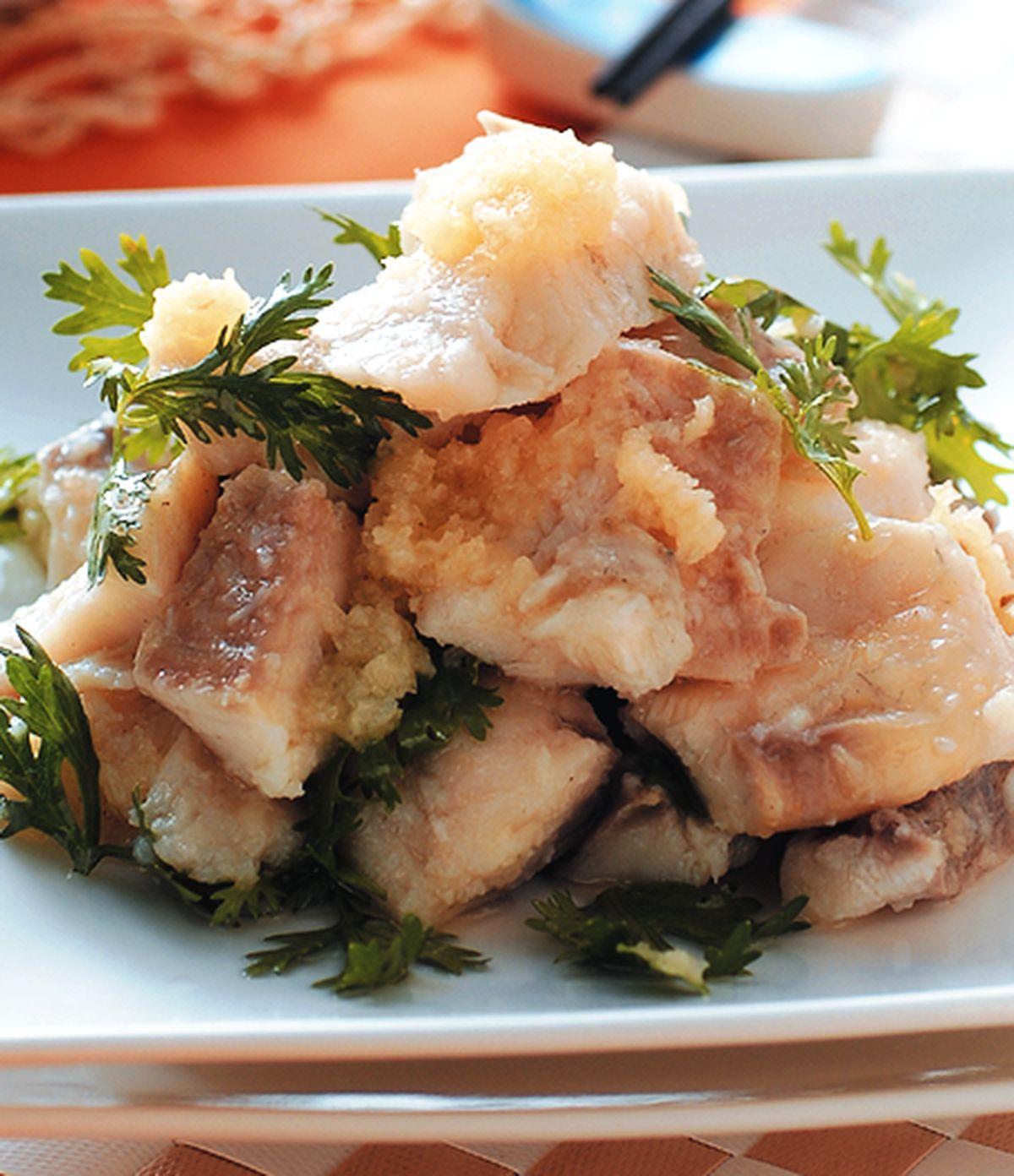 食譜:蒜油魚片
