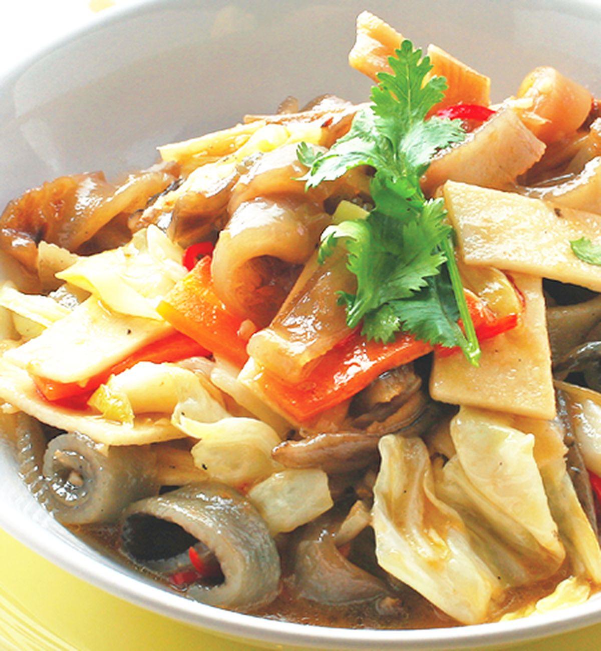 食譜:酸辣魚皮(1)