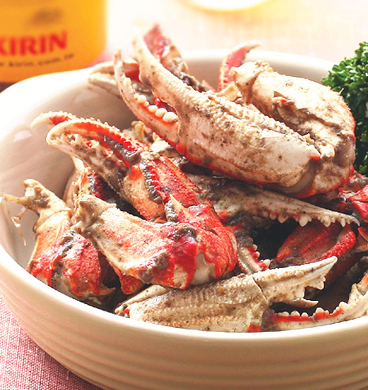 食譜:胡椒蟹腳