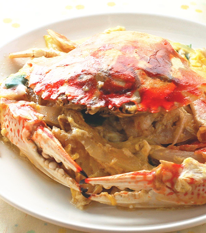 食譜:芙蓉炒蟹
