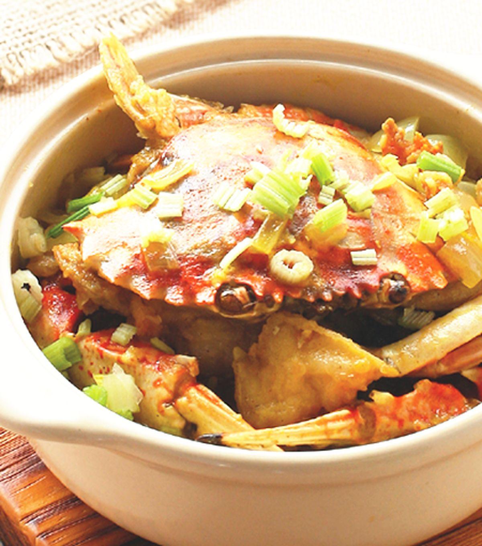 食譜:咖哩螃蟹粉絲