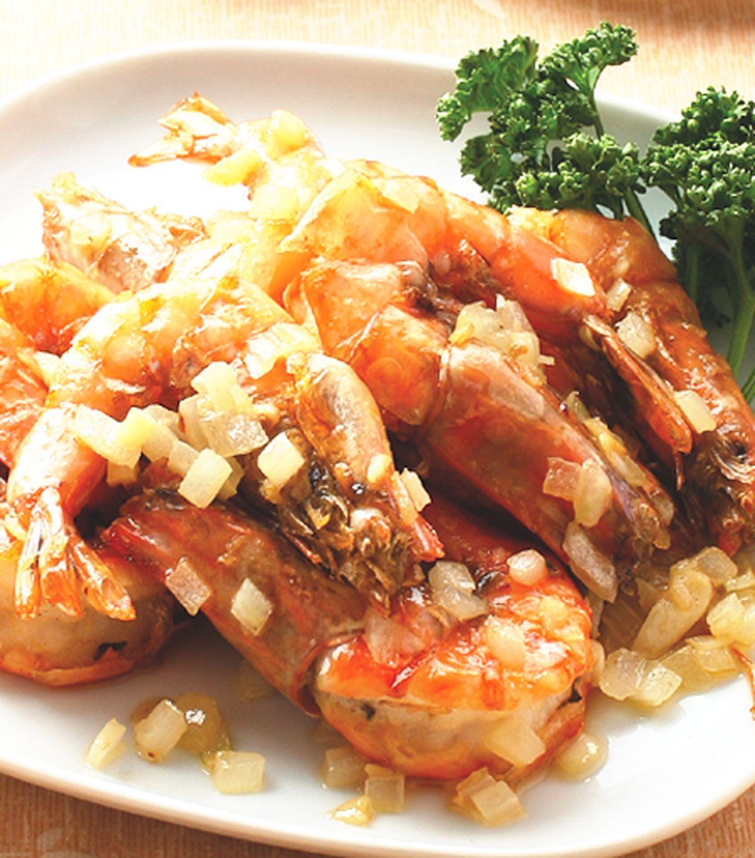 食譜:奶油草蝦(1)