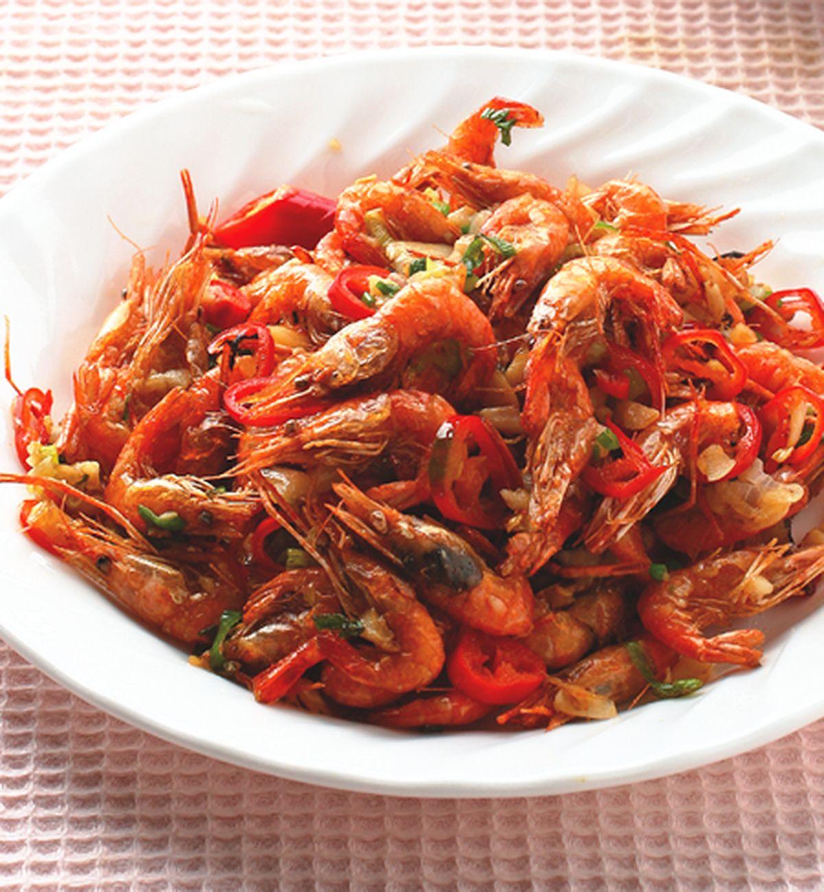食譜:椒鹽溪蝦