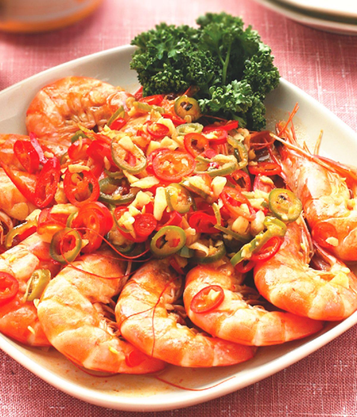 食譜:酸辣蝦(2)