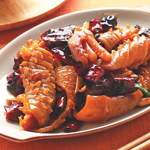 宮保魷魚(2)