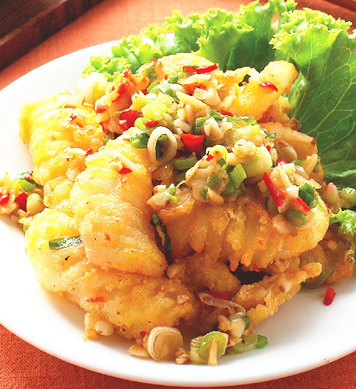 食譜:椒鹽鮮魷魚(1)