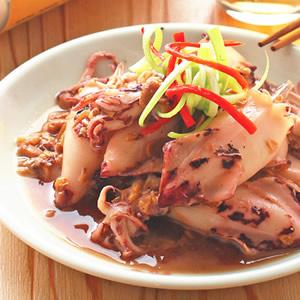 豆醬燒小卷