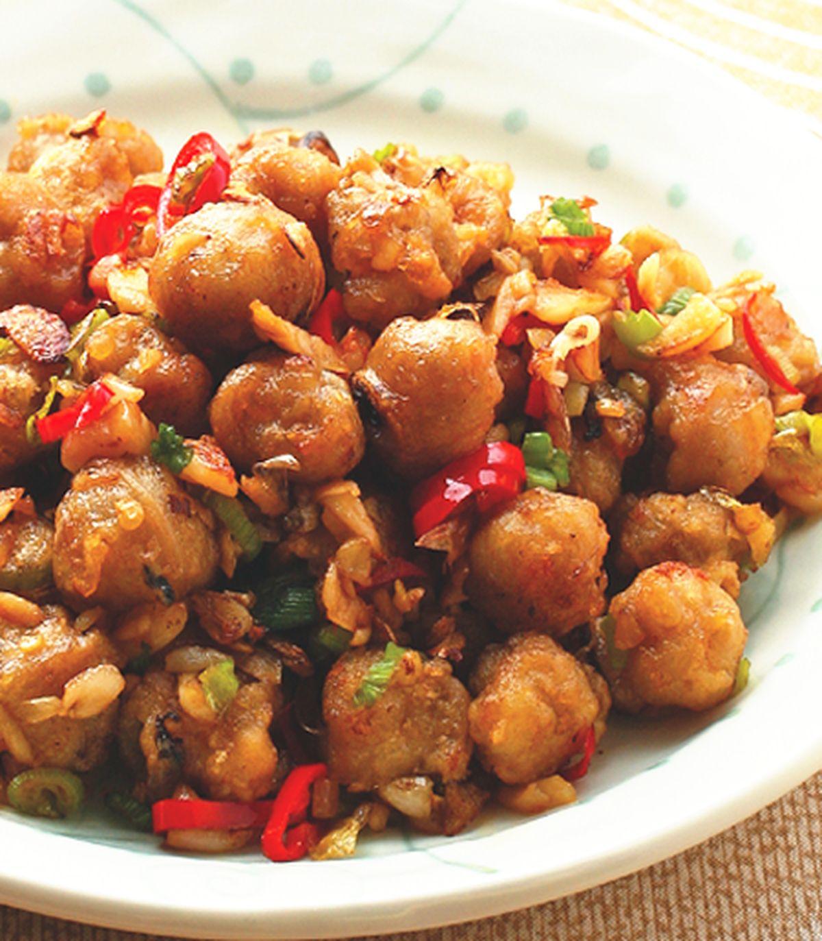 食譜:椒鹽龍珠(2)