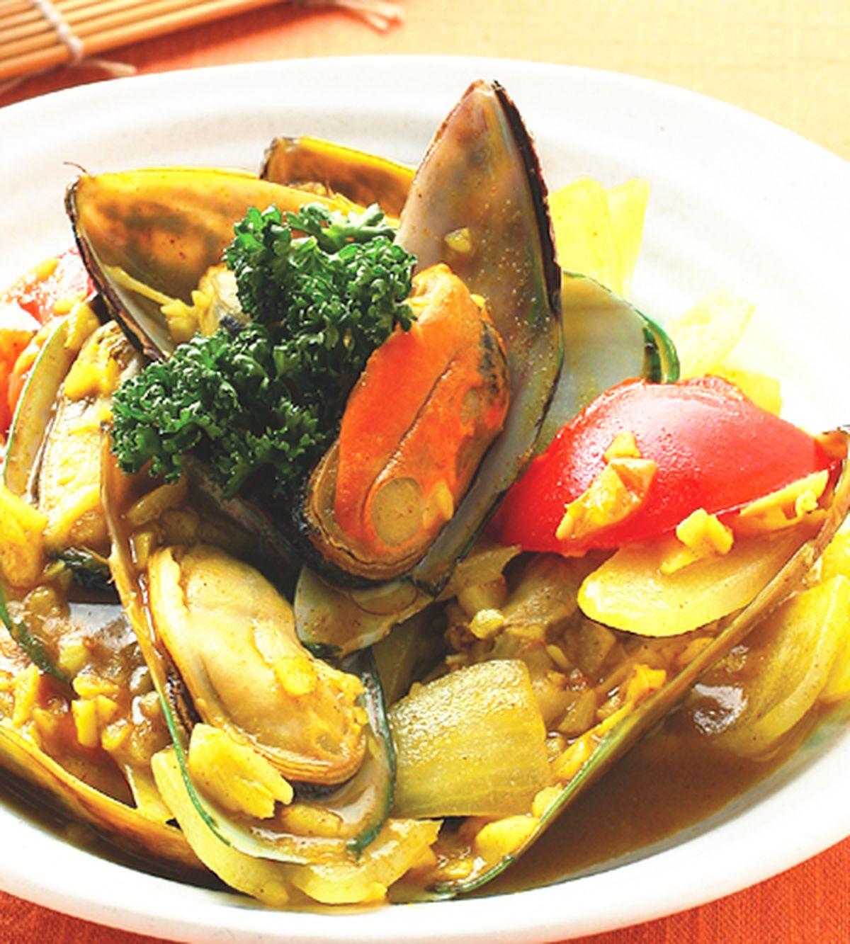 食譜:咖哩炒孔雀蛤