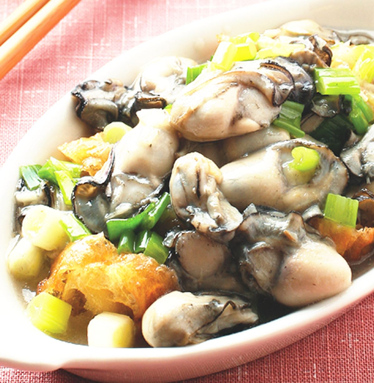食譜:油條鮮蚵