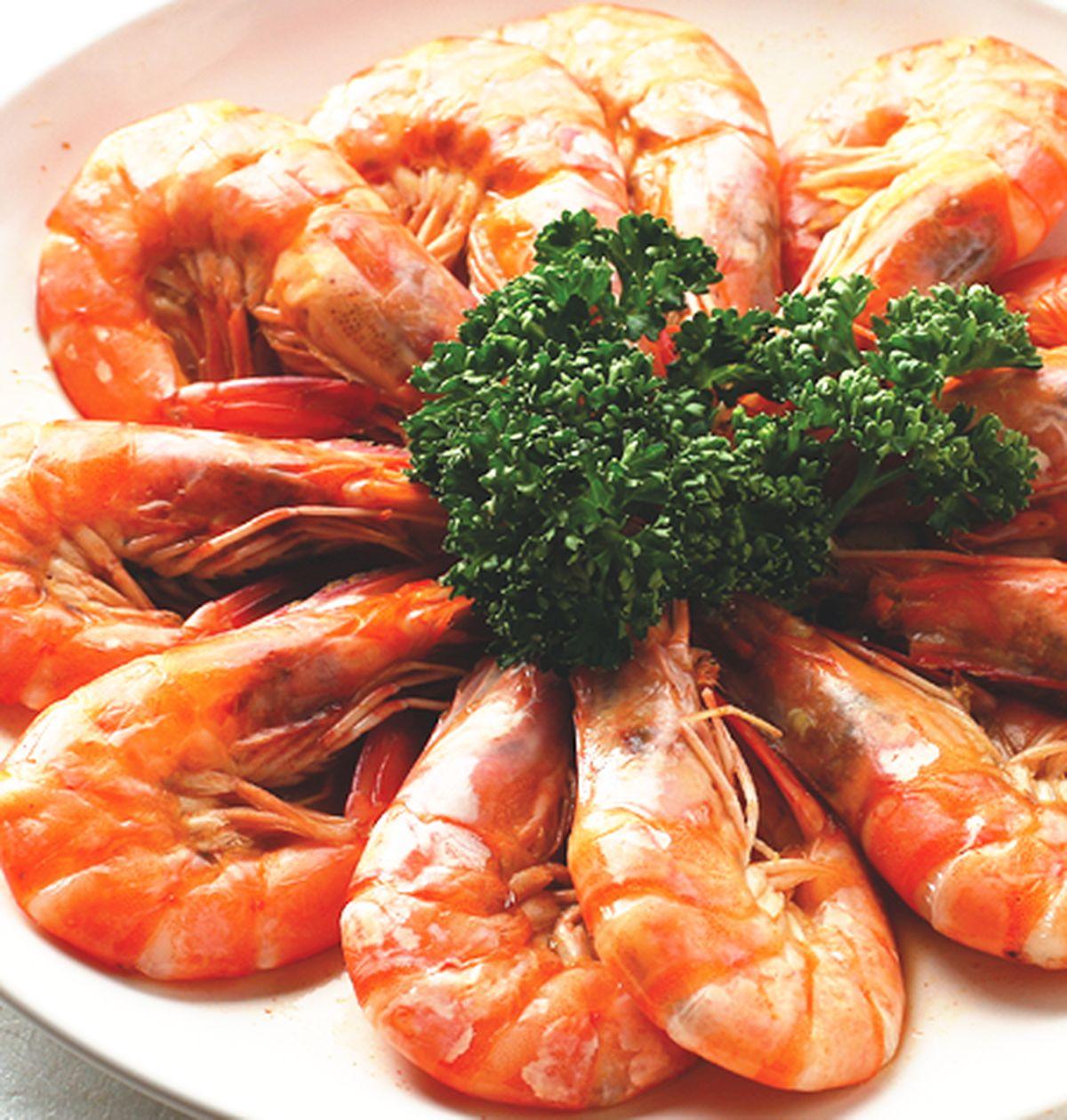 食譜:鹽焗鮮蝦