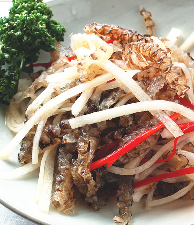 食譜:涼拌鯛魚皮