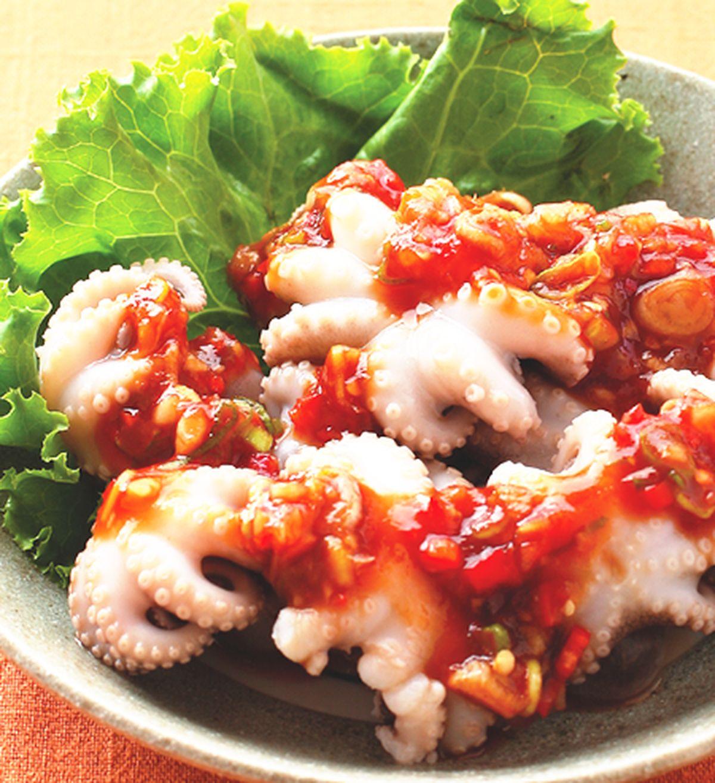 食譜:五味章魚