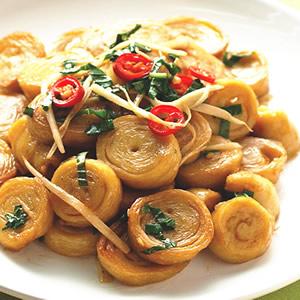 薑絲炒麵腸(1)