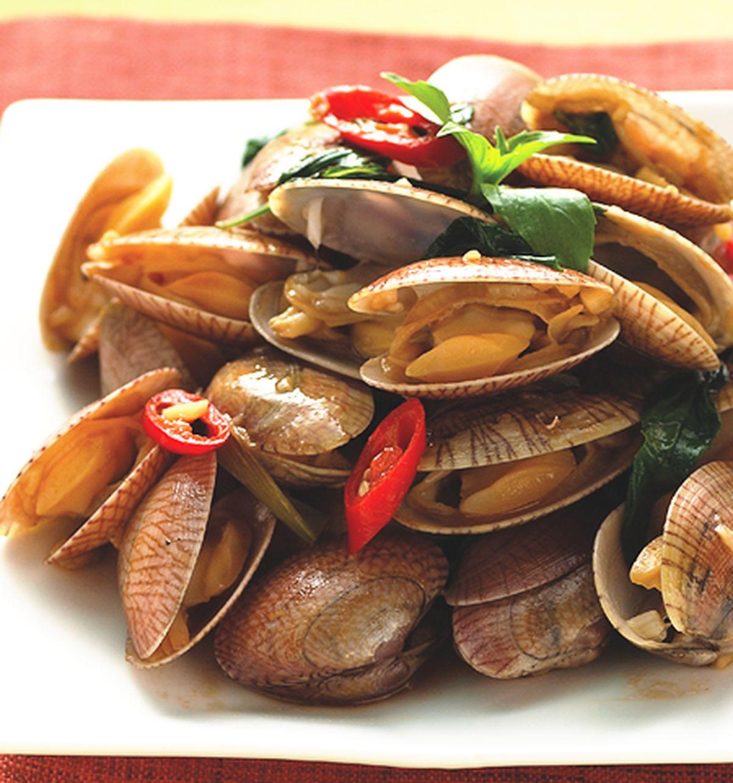 食譜:炒海瓜子(1)