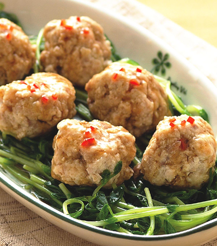 食譜:蒸豆腐丸子