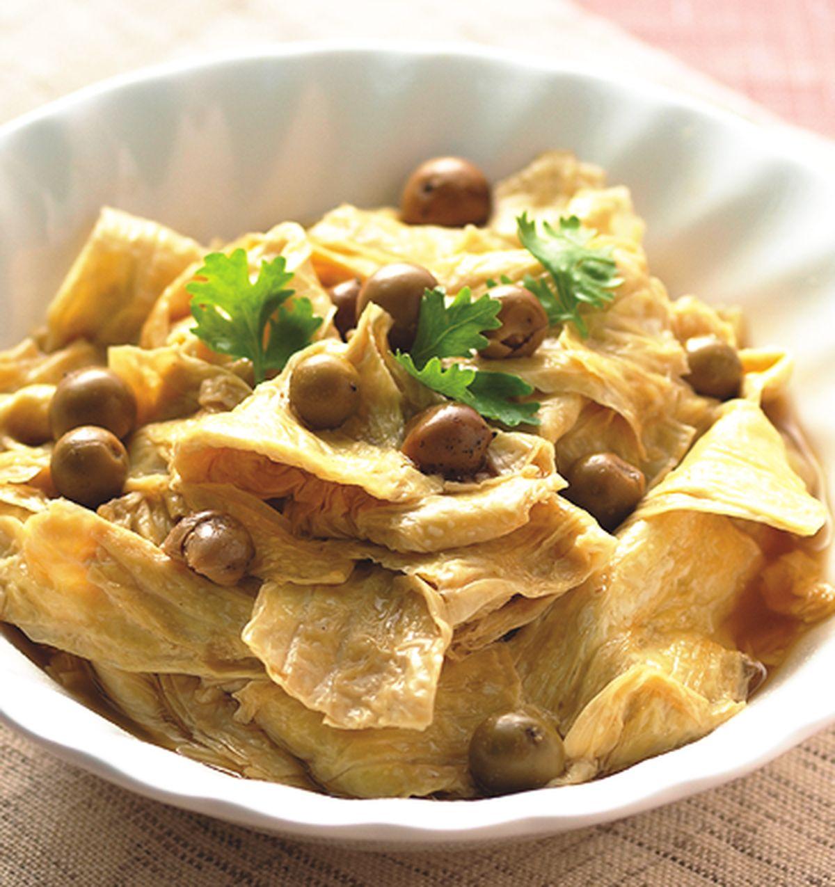 食譜:蒸破布子豆包