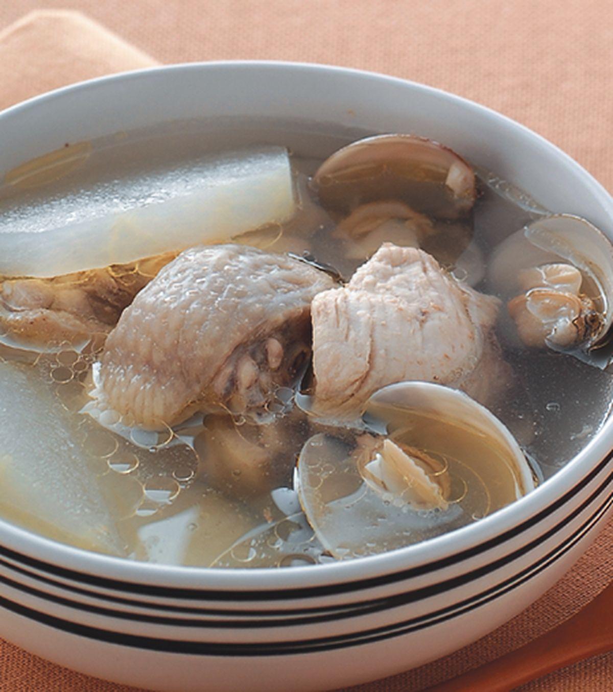食譜:蛤蜊冬瓜雞湯