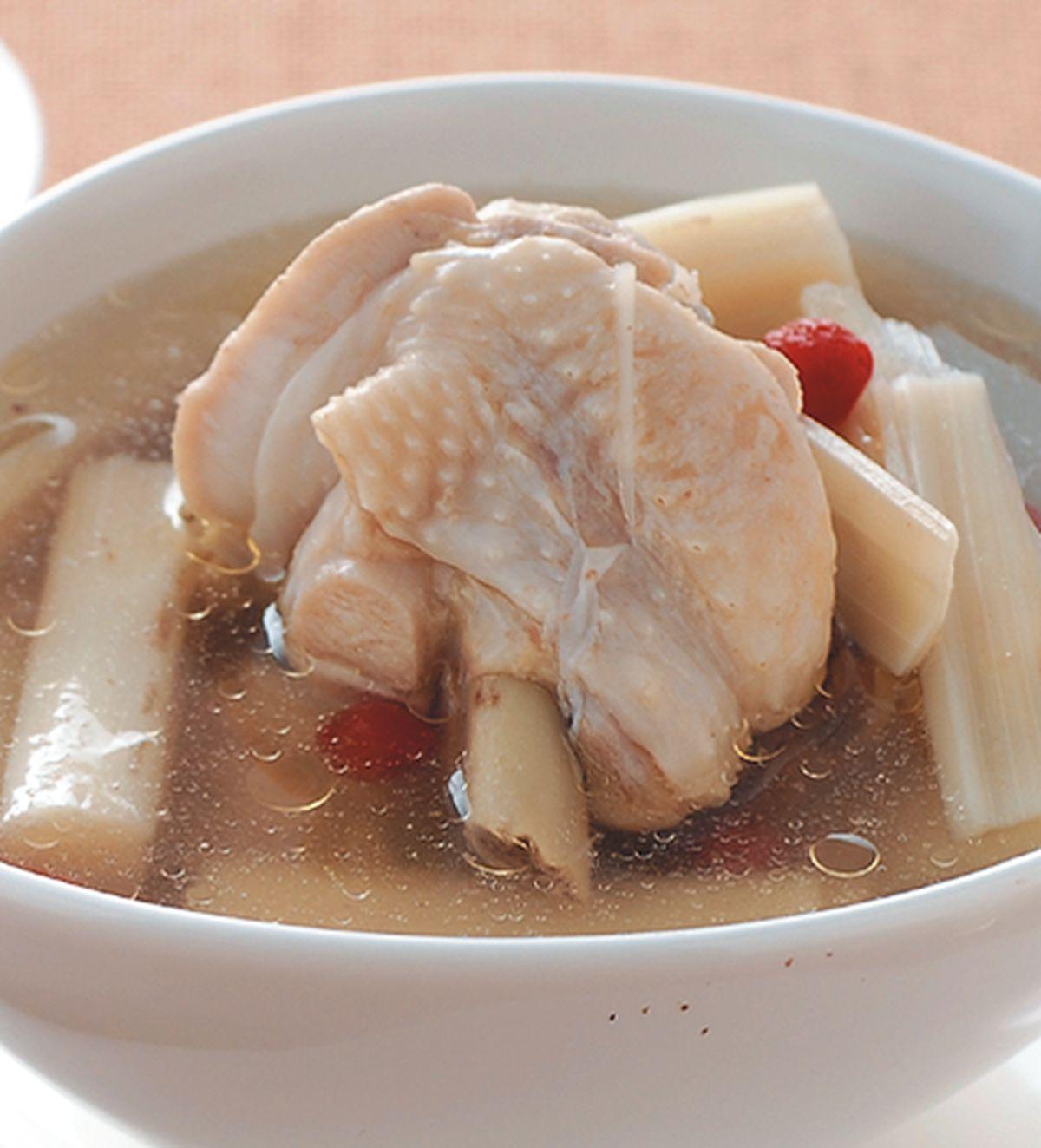 食譜:檳榔心鮮雞湯