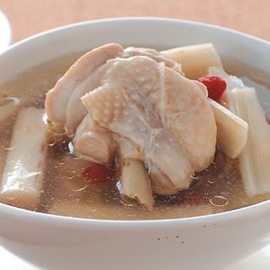 檳榔心鮮雞湯