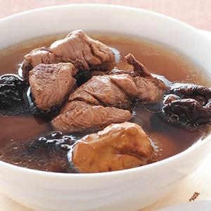 栗子冬菇雞湯