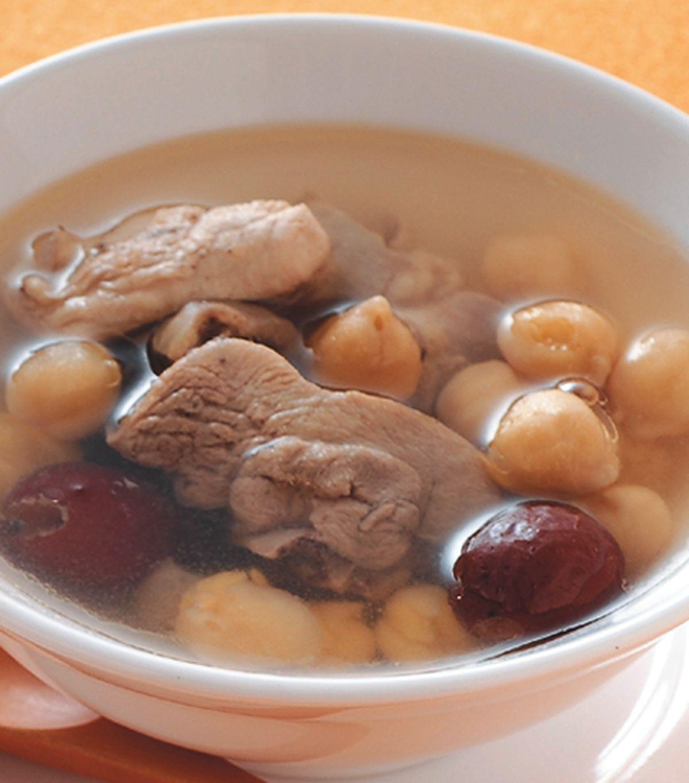 食譜:雪蓮紅棗雞湯
