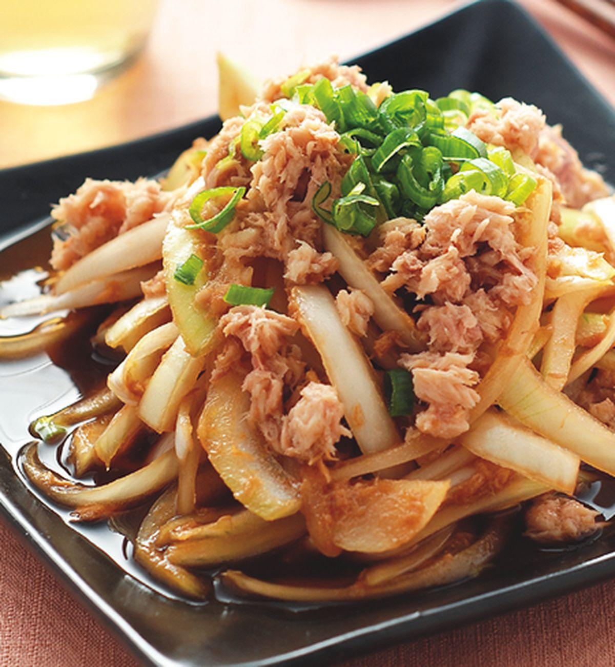 食譜:洋蔥拌鮪魚(1)