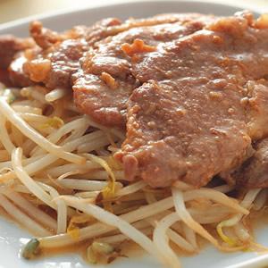 薑汁豆芽燒肉