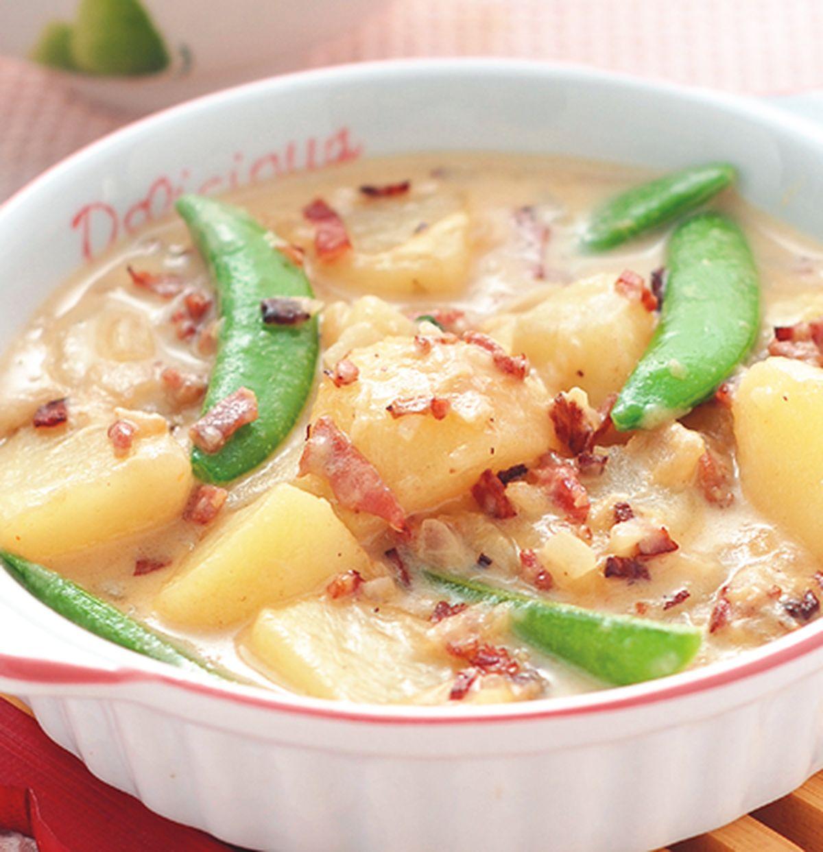 食譜:白醬馬鈴薯
