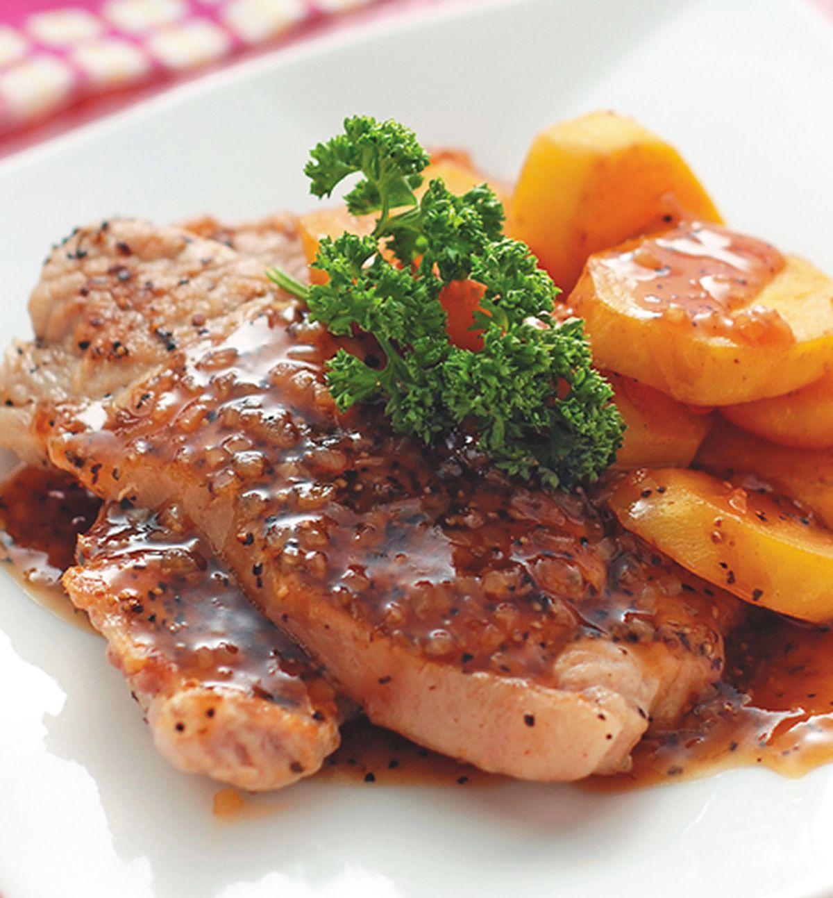 食譜:地瓜煎肉排