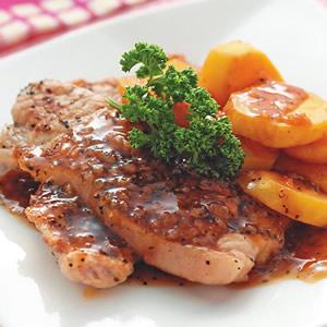 地瓜煎肉排