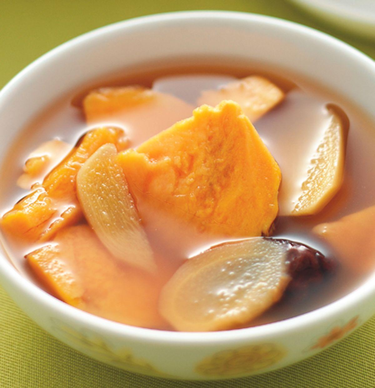 食譜:薑汁地瓜湯