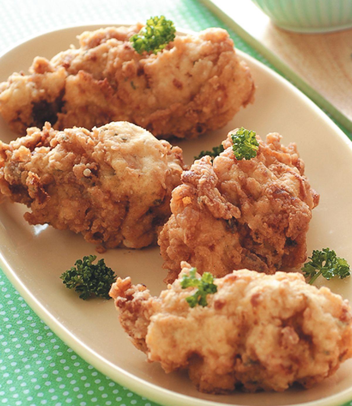 食譜:巧達起司酥皮炸雞