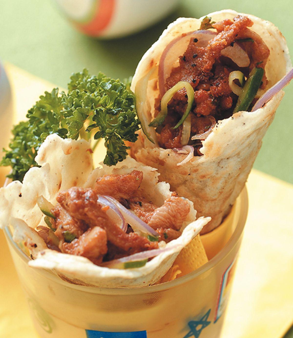食譜:墨西哥雞肉捲餅(1)