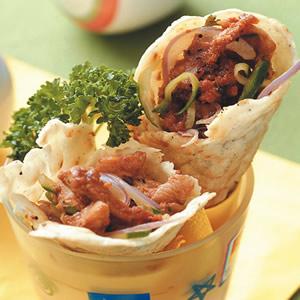 墨西哥雞肉捲餅(1)