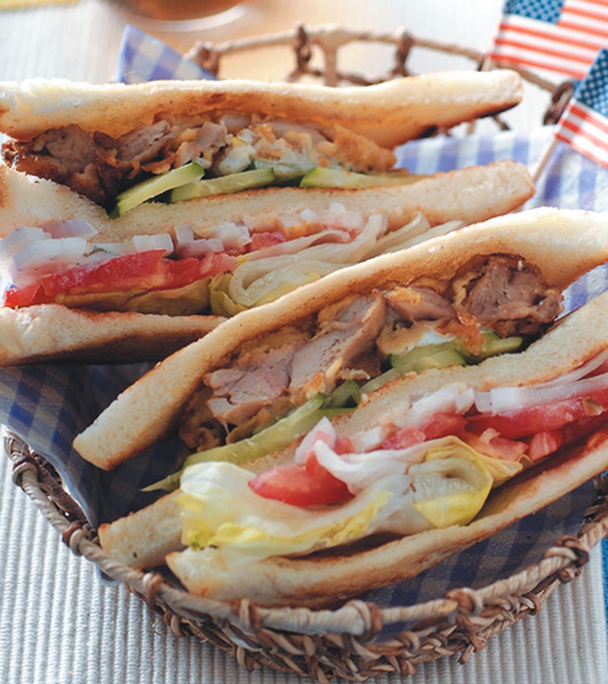 食譜:紅茶炸雞三明治