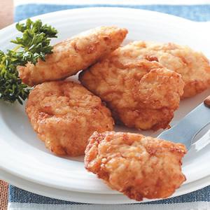 奶油玉米脆皮雞塊