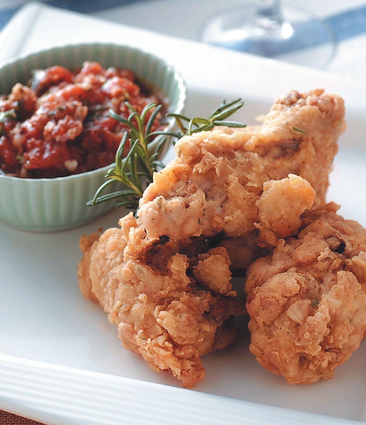 食譜:蕃茄沙沙炸雞