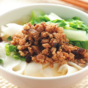 香菇肉燥粄條湯