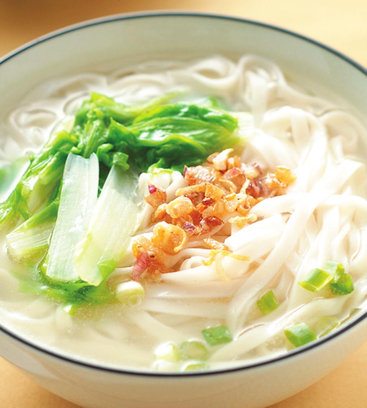 食譜:陽春麵