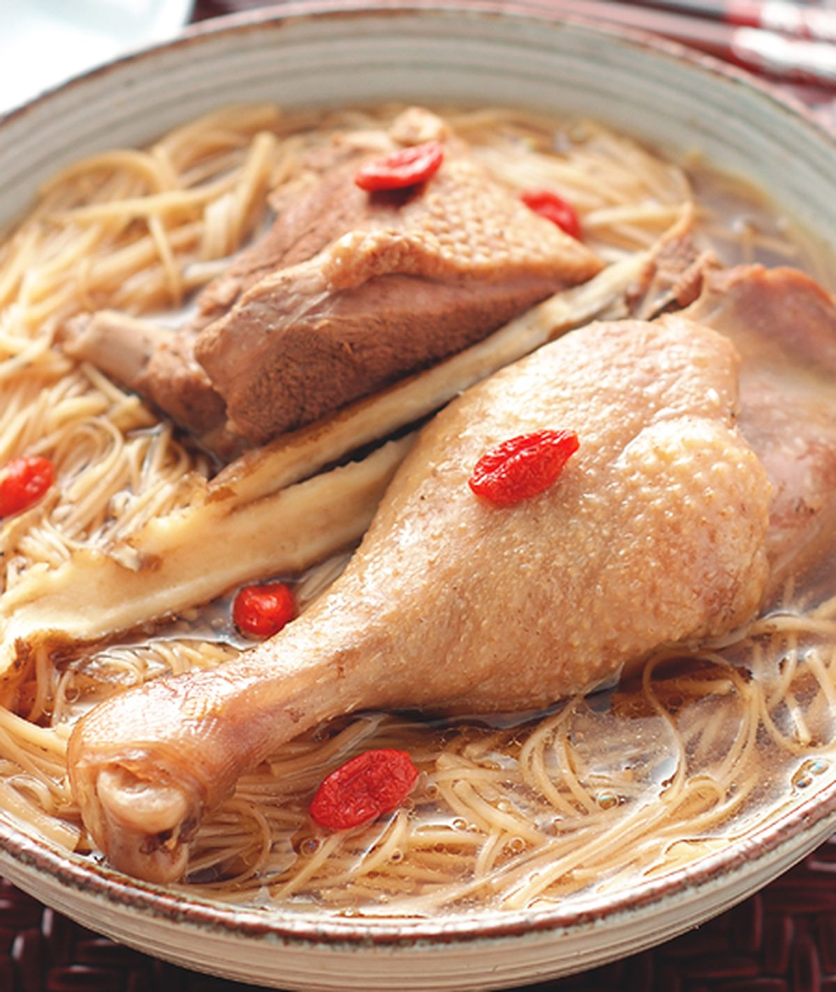 食譜:當歸鴨麵線(1)
