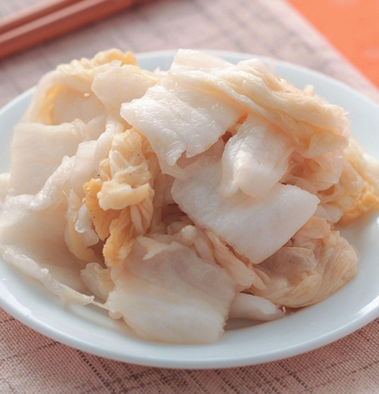 食譜:切片醃漬酸白菜