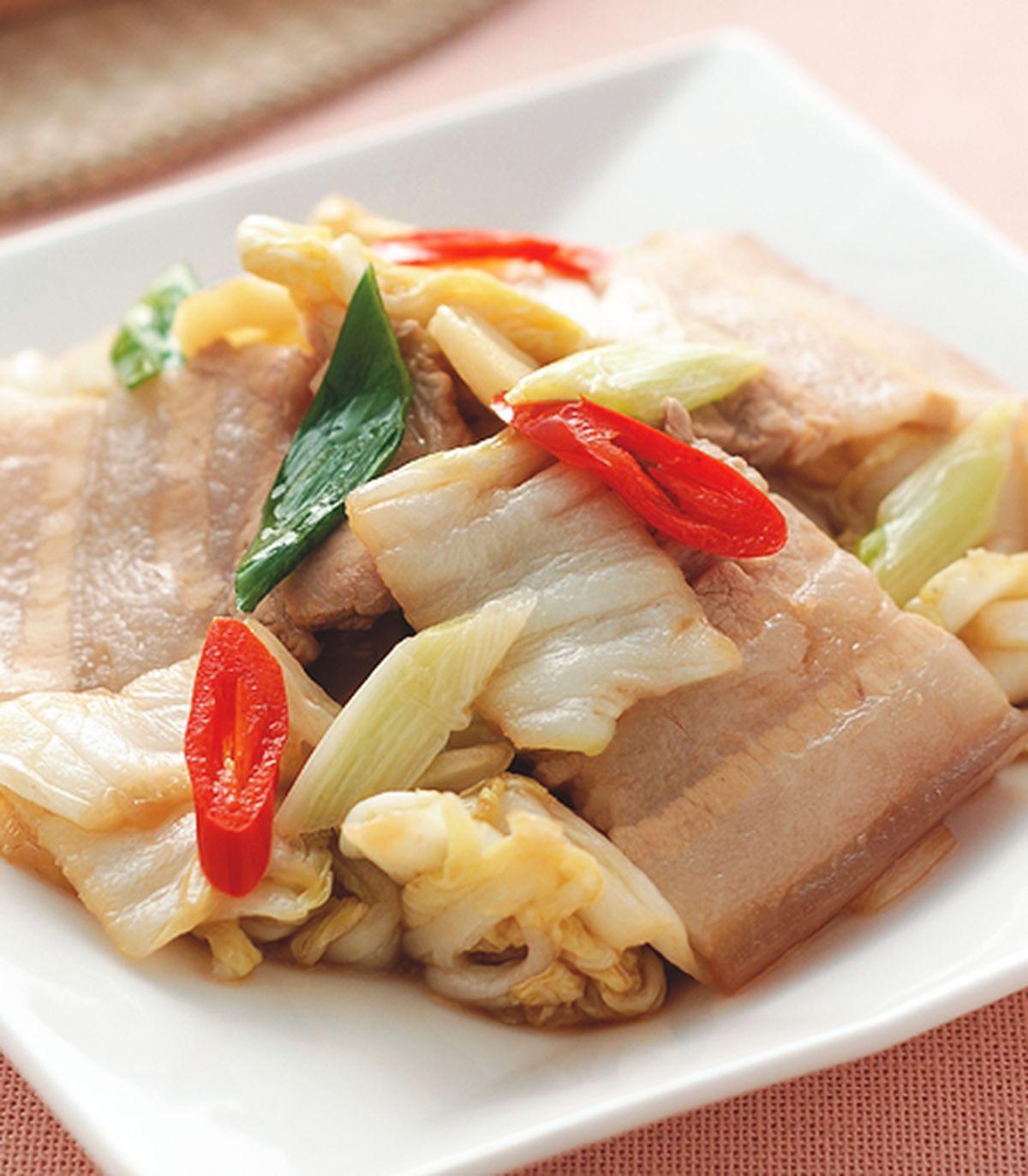 食譜:酸白菜炒回鍋肉