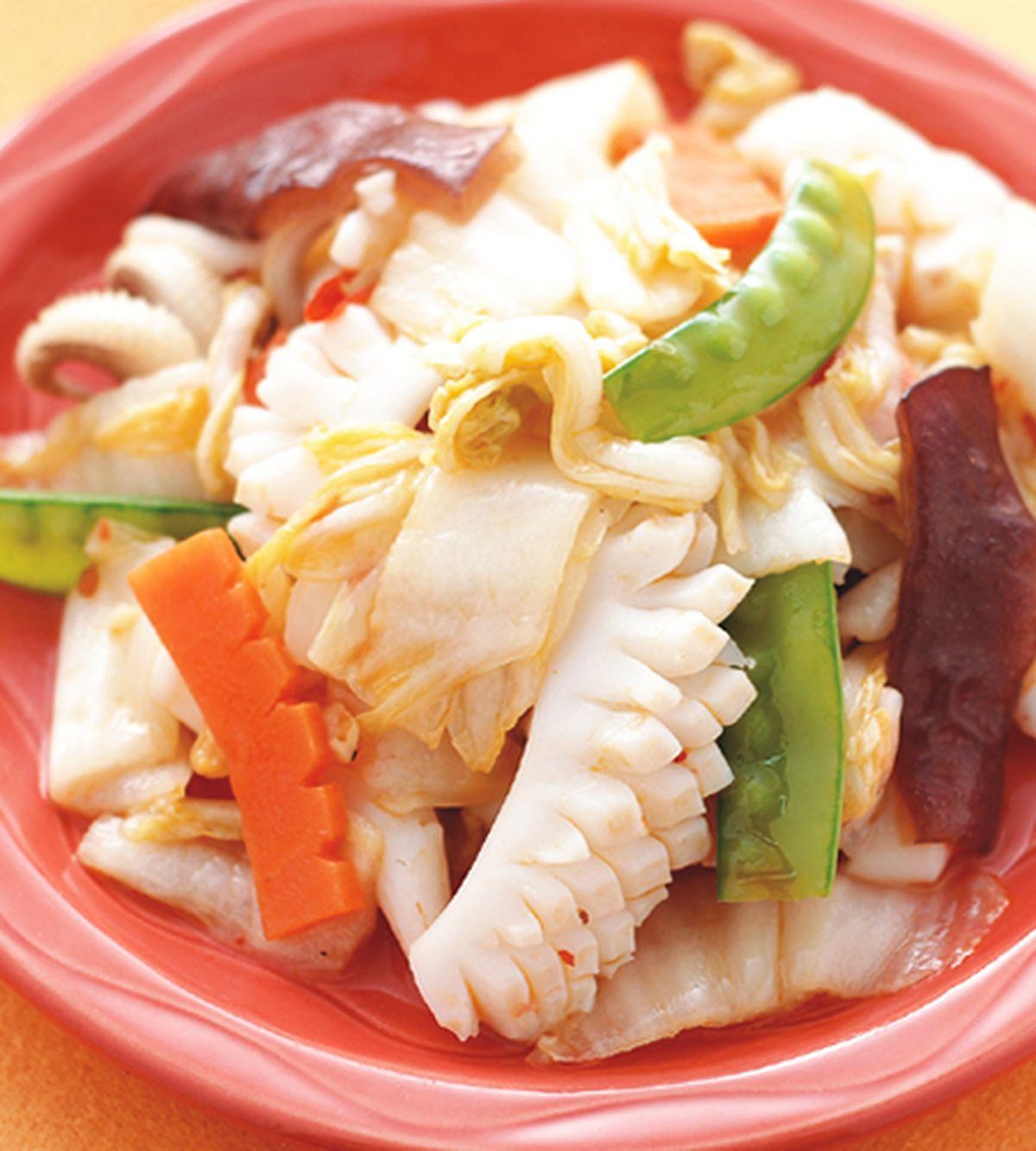 食譜:酸白菜炒花枝
