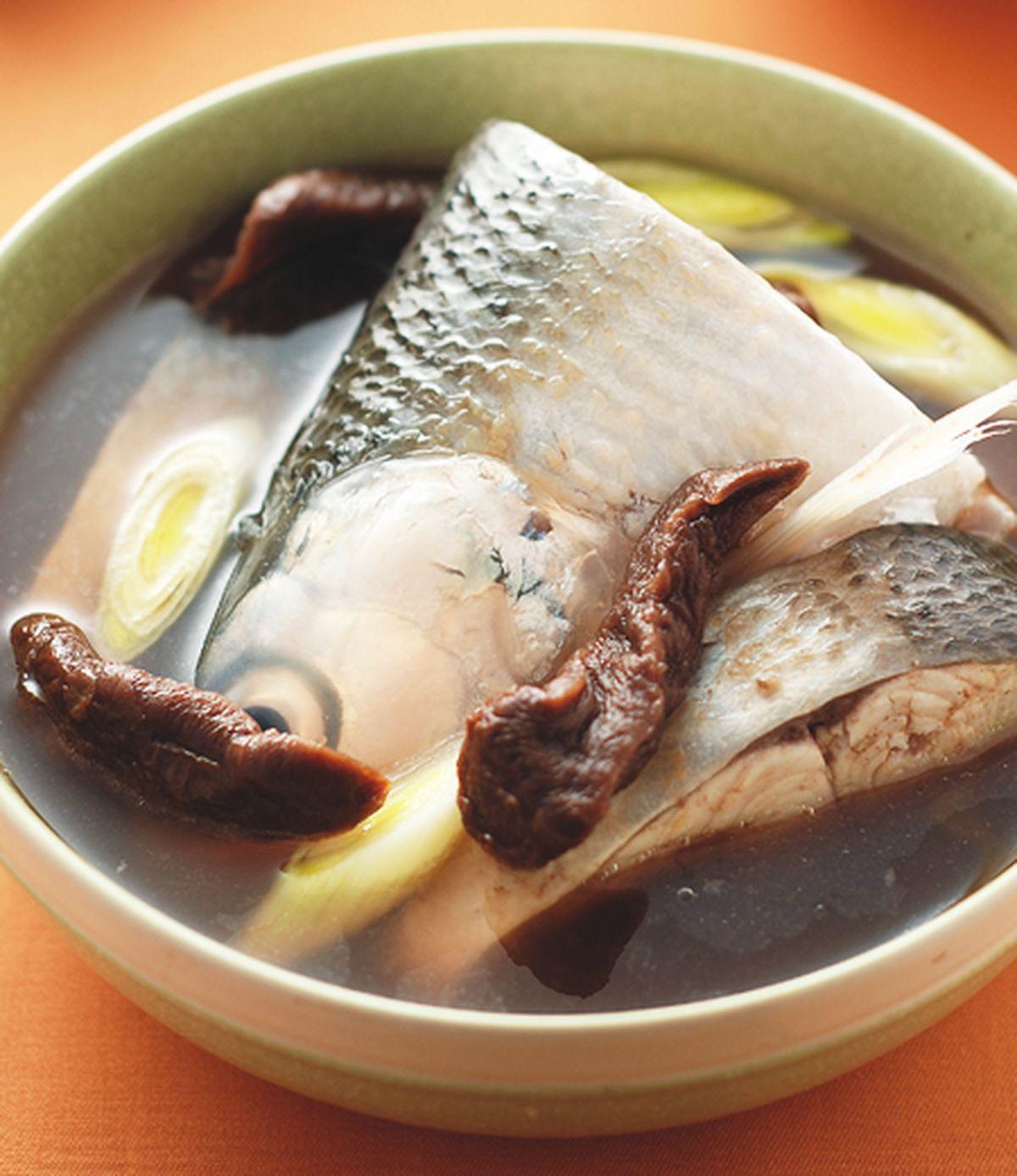 食譜:老菜脯魚湯