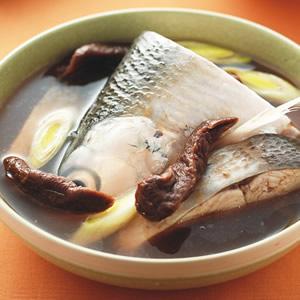老菜脯魚湯