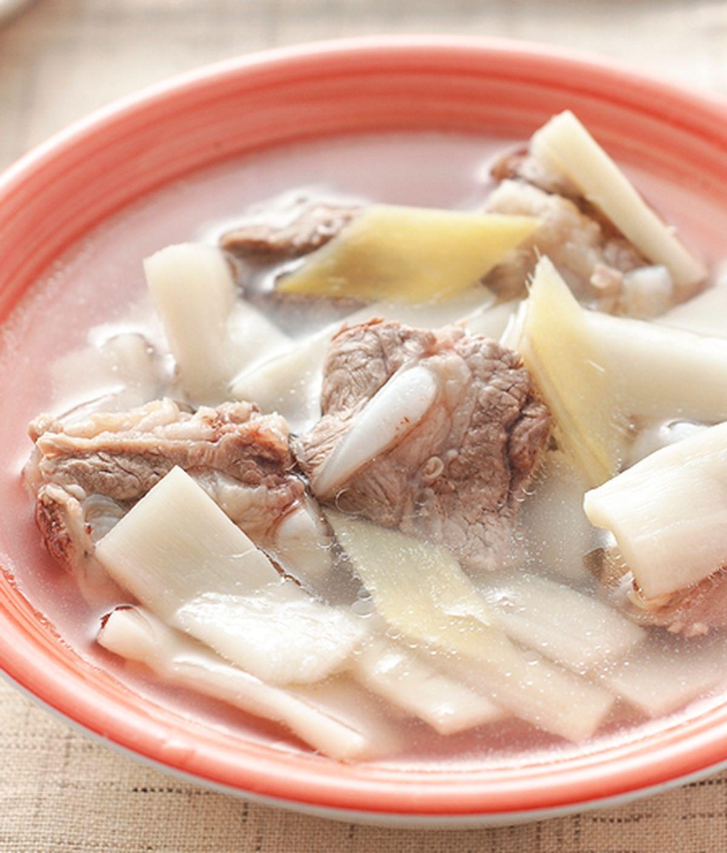食譜:脆筍排骨湯