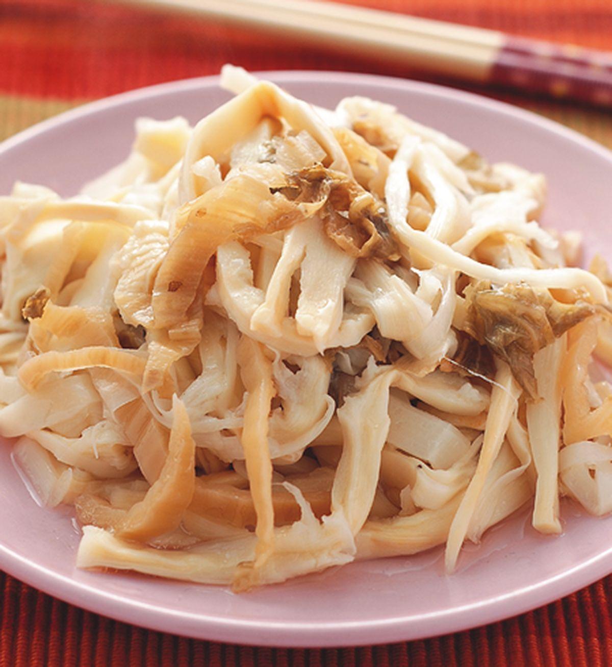 食譜:福菜滷筍絲